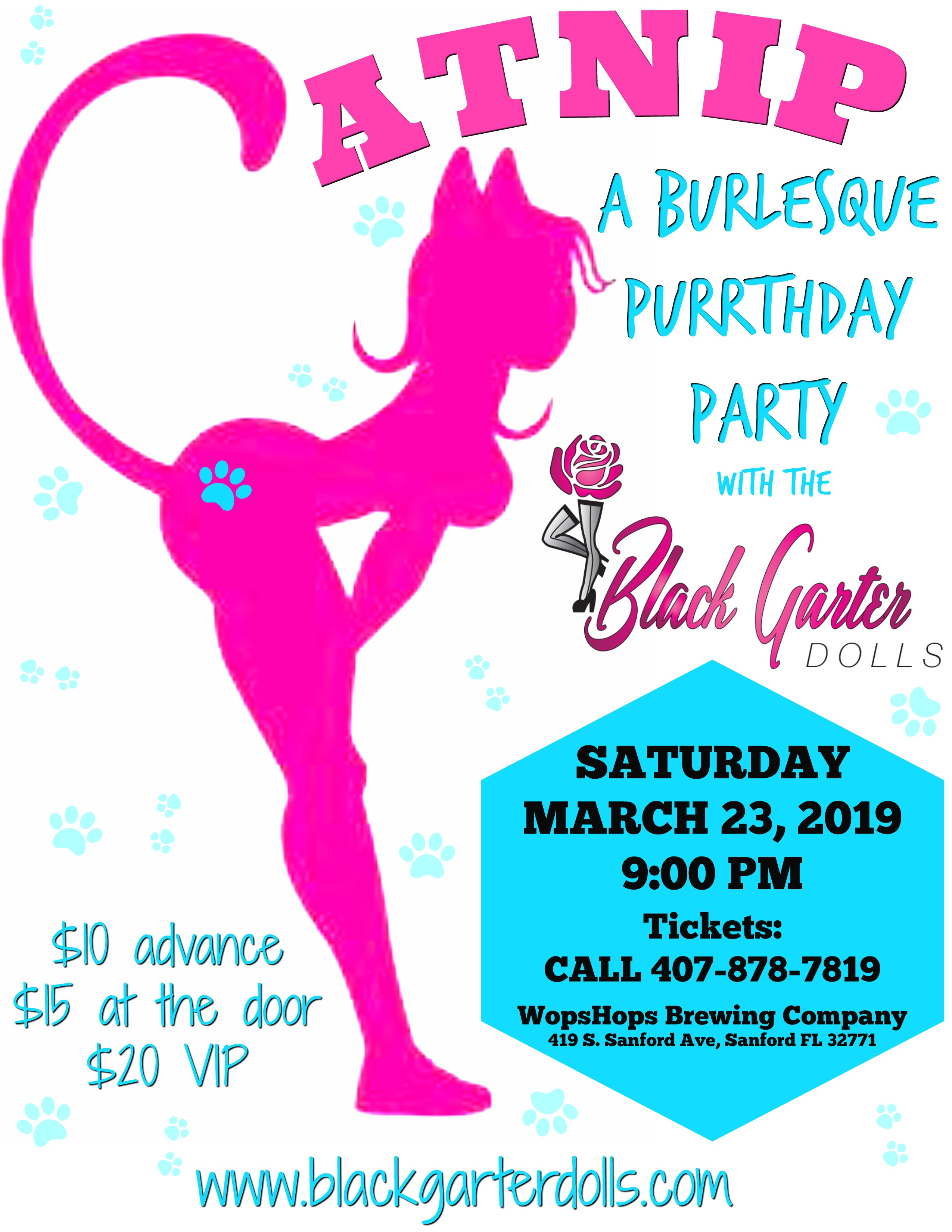 Catnip: A Burlesque Purrthday Party
